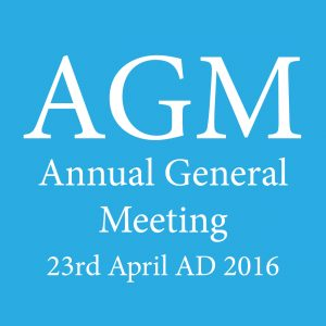 Voted for at 2016 AGM