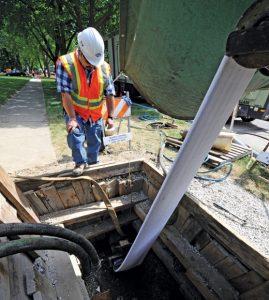 Water Pipe Repairing