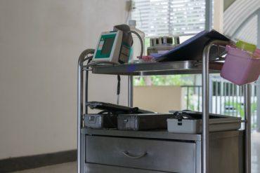 Mobile Hospital Cart