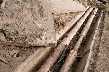 underground utility lines