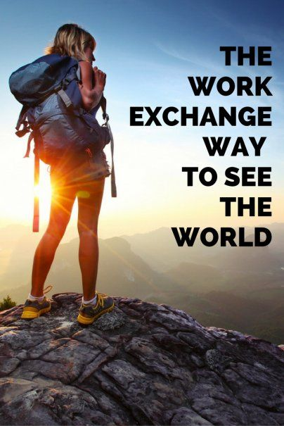 Up And Coming Trends About Travel In Exchange For Work