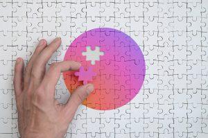 solving puzzle