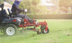Operating Riding Lawn Mowers