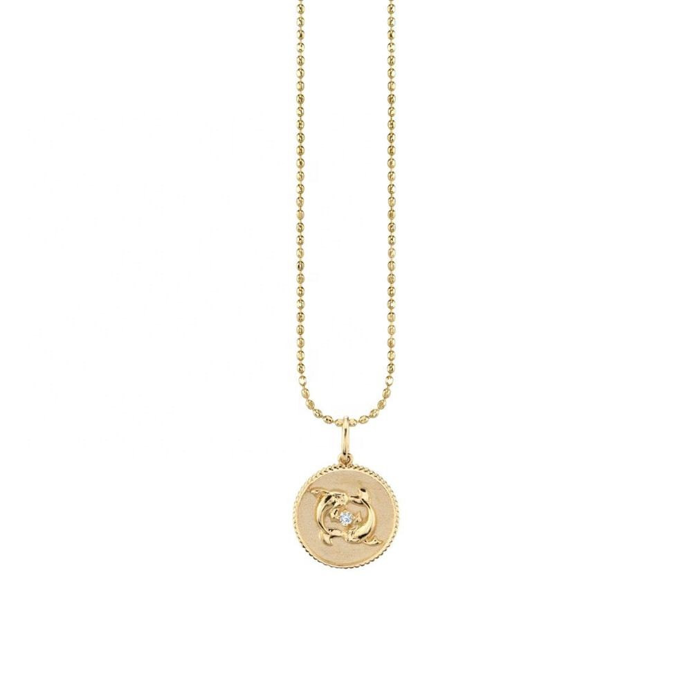 18k Gold Plated Sterling Silver Zodiac Necklaces