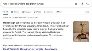 Website Creator Chandigarh
